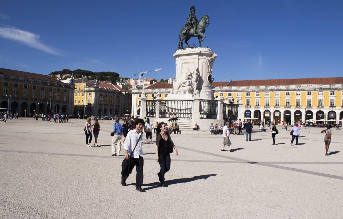 Plaza del Comercio (Lisboa).