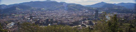 Panorámica de Bilbao.